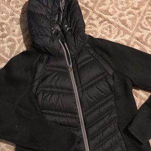 Michael Kors Black Hooded Jacket XL
